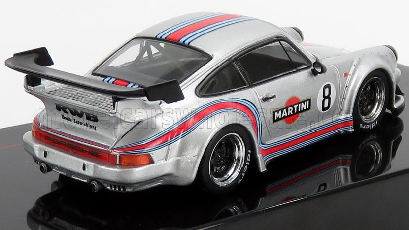 993 PORSCHE 911 RBW 1973 COLORS WHITE//BLANCO MARTINI 1//43 IXO