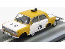 LADA FIAT 1500 VB POLICE 1966-007 JAMES BOND 1//43 EDICOLA THE BONDCOL026