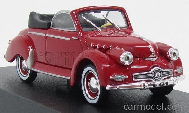 NOREV 451803 Masstab: 1/43  PANHARD DYNA X CABRIOLET 1954 RED