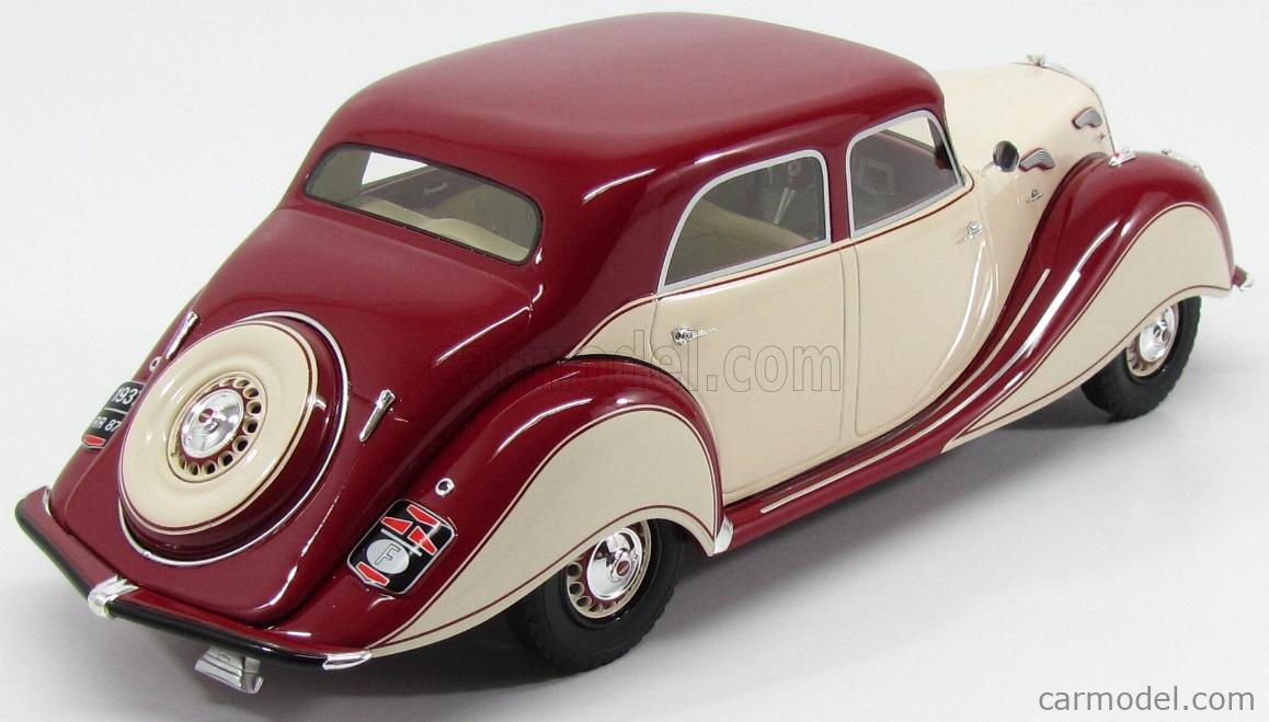BoS-MODELS BOS194 Masstab: 1/18  PANHARD DYNAMIC BERLINE 1936 RED CREAM