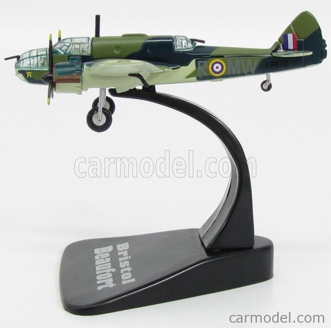 EDICOLA 6120229-2110229 Echelle 1/144  BRISTOL BEAUFORT BOMBARDIERE 1939 - RAF - ENGLISH AIR FORCE CAMOUFLAGE