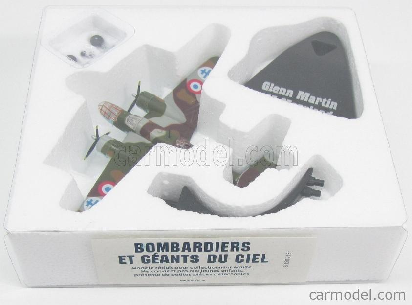EDICOLA 6120213-2110213 Echelle 1/144  GLENN MARTIN 167 MARYLAND BOMBARDIERE 1940 - FRENCH AIR FORCE CAMOUFLAGE