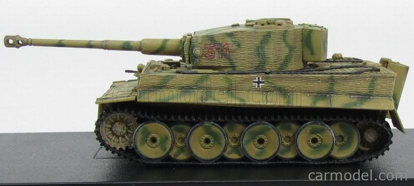DRAGON ARMOR 60062 Escala 1/72  TANK TIGER-I s.Pz.Abt. 501 W/ZIMMERIT MID PRODUCTION EASTERN FRONT 1944 MILITARY CAMOUFLAGE