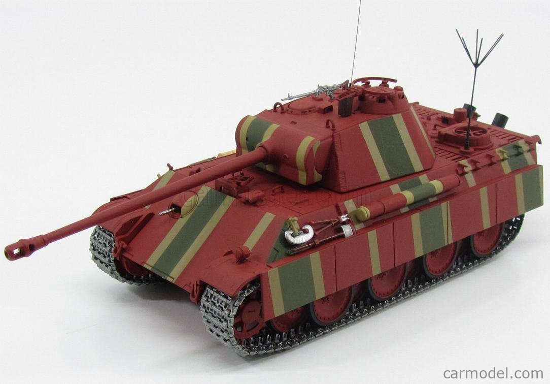 MINICHAMPS 350019002 Scale 1/35  TANK PANTHER AUSF. G PANZERKAMPFWAGEN-V COMMAND VERSION ODERFRONT 1945 MILITARY CAMOUFLAGE