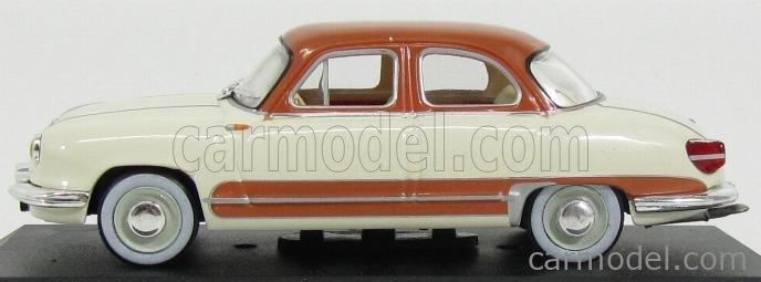EDICOLA DMPHA07-2147207 Masstab: 1/43  PANHARD DYNA Z 1958 CREAM BROWN