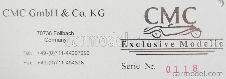 CMC M169 Scale 1/18  MERCEDES BENZ LO2750 LKW PLATFORM TRUCK CASSONATO 1933 YELLOW RED