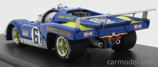 MG-MODEL 512M-58 Scala 1/43  FERRARI 512 ch.1032 TEAM SUNOCO N 6 12h SEBRING 1971 M.DONOHUE - D.HOBBS BLUE YELLOW