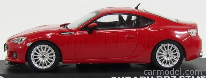 TRIPLE9 T9P-10021 Echelle 1/43  SUBARU BRZ STi TS COUPE 2013 RED
