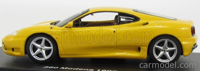 Edicola Fergtcoll021 Masstab 1 43 Ferrari 360 Modena 1999 Yellow