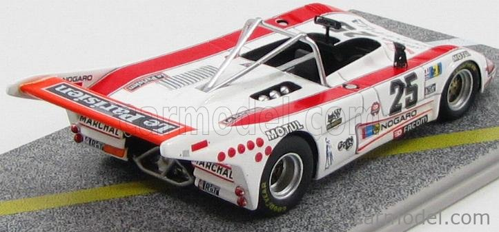 BIZARRE BZ164 Scale 1/43  LOLA T296/6 FORD COSWORTH TEAM PRONUPTIA N 25 24h LE MANS 1978 B.SOTTY - G.CUYNET - J.C.DUFREY WHITE RED