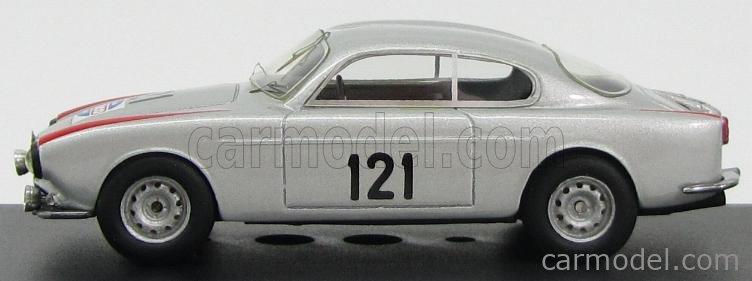 BEEBOP BB011 Scale 1/43  ALFA ROMEO SVZ SPRINT VELOCE ZAGATO N 121 MILLE MIGLIA 1957 SILVER