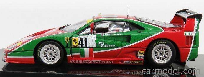 1:43 F. Mancini-m. Monti-g. ayles Ferrari f40 No 41 Lemans 1995