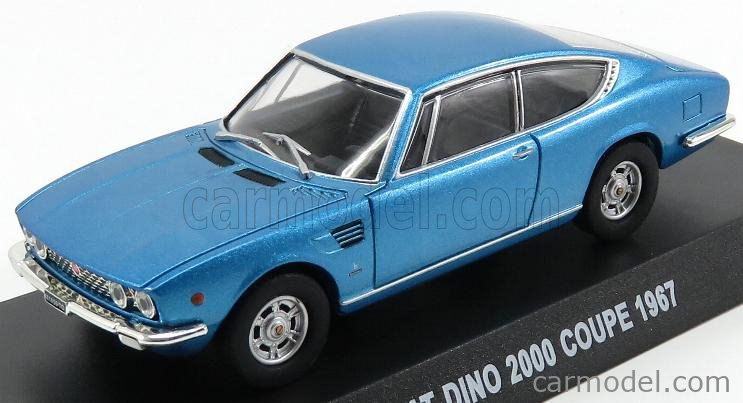 Fiat Dino 2000 coupe 1967 1:43 coche Leo Models Diecast