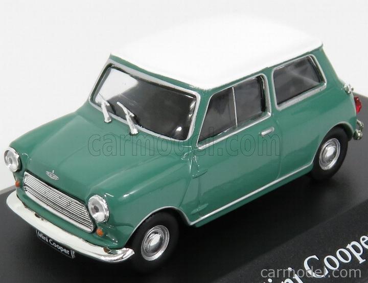 EDICOLA DOCHAP2891020 Echelle 1/43  AUSTIN MINI COOPER 1961 GREEN WHITE