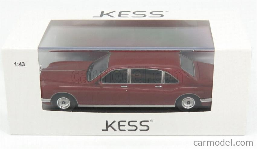 KESS-MODEL KE43049011 Echelle 1/43  ROLLS ROYCE BERTONE ROYALE PHANTOM MAJESTIC 1993 BORDEAUX