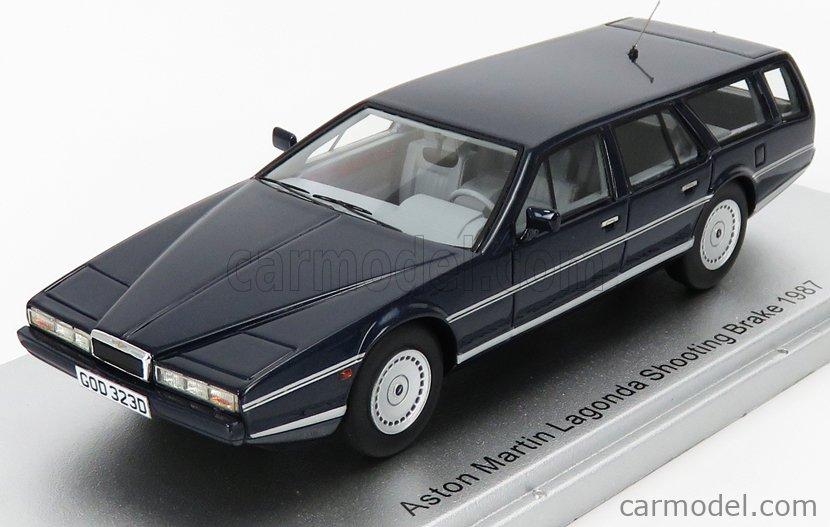 Kess Model Ke43047000 Masstab 1 43 Aston Martin Lagonda Shooting Brake 1987 Blue Met