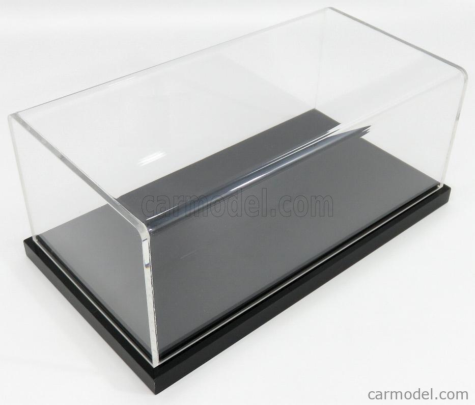 ATLANTIC ATL10004 Масштаб 1/24  VETRINA DISPLAY BOX DETROIT BASE NERA - BLACK BASE - Lungh.LENGHT cm 23 X Largh.WIDTH cm 12 X Alt.HEIGHT cm 8.5 (altezza interna 8 cm ) BLACK - PLASTIC DISPLAY