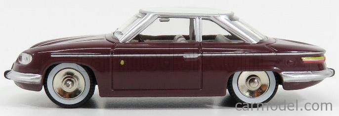 NOREV CL4511 Масштаб 1/43  PANHARD 24CT 1964 PURPLE WHITE