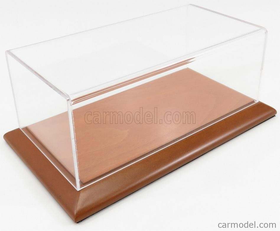 ATLANTIC ATL10045 Масштаб 1/24  VETRINA DISPLAY BOX MOLSHEIM BASE IN LEGNO - WOOD CHERRY BASE - Lungh.LENGHT cm 23 X Largh.WIDTH cm 12 X Alt.HEIGHT cm 8.5 (altezza interna 8.0 cm ) PLASTIC DISPLAY