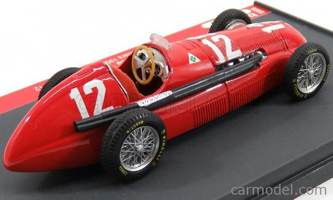 BRUMM-S S055-UPD Scale 1/43  ALFA ROMEO F1  158 N 12 SVIZZERA GP 1950 L.FAGIOLI RED