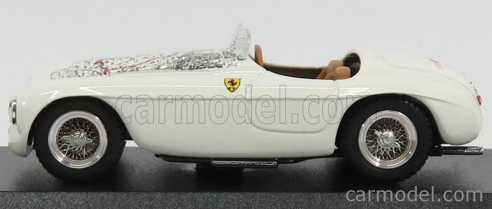 BEST-MODEL LO9806 Scale 1/43  FERRARI 195 SPIDER MILLE MIGLIA 1940 LORENZI WHITE