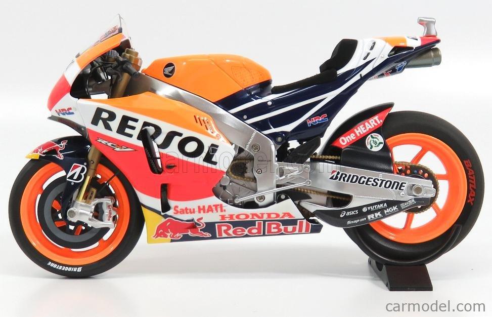 1:12 Minichamps Honda rc213v #93 Moto GP Marquez 2015