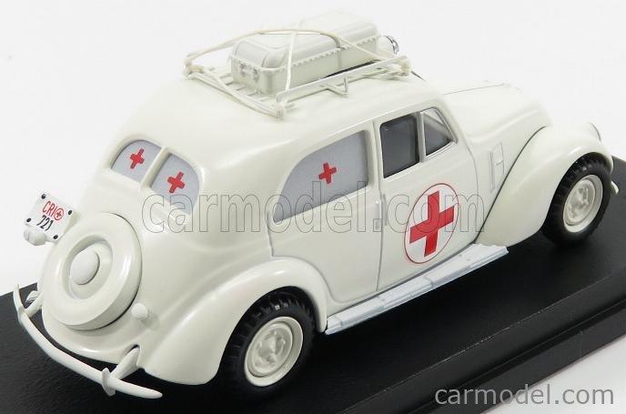 RIO-MODELS 4545 Scale 1/43  FIAT 1500 AMBULANZA 1936 WHITE