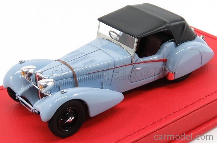EVRAT EVR202 Masstab: 1/43  BUGATTI T57SC SPORT TOURER VANDEN PLAS sn57541 CABRIOLET CLOSED 1938 LIGHT BLUE