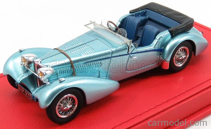 EVRAT EVR201 Masstab: 1/43  BUGATTI T57SC SPORT TOURER VANDEN PLAS sn57541 ROADSTER 1938 LIGHT BLUE MET