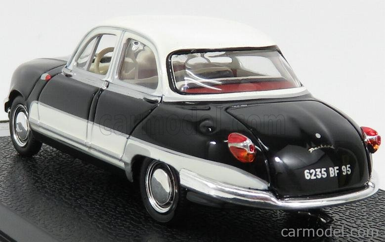 VITESSE 23595 Masstab: 1/43  PANHARD DYNA Z12 GRAND STANDING 1957 BLACK WHITE