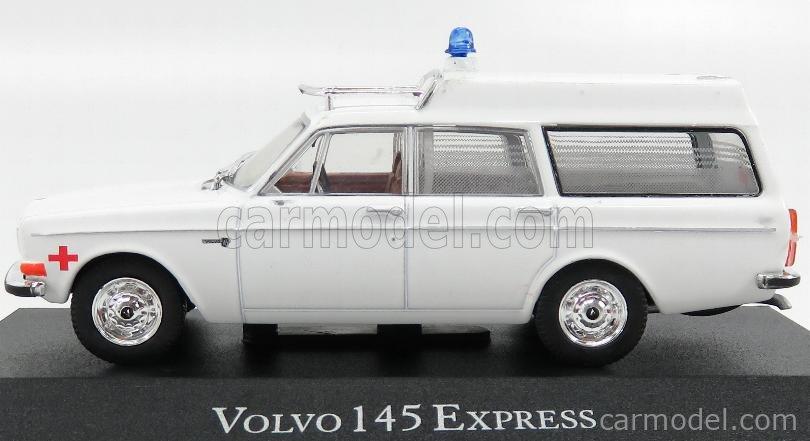 EDICOLA 7495007 Scale 1/43  VOLVO 145 EXPRESS AMBULANCE 1969 WHITE