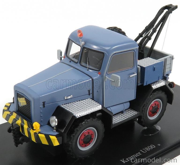 AUTOCULT ATC11008 Echelle 1/43  KRAMER U800 TRUCK ALLROAD GERMANY CRANE GRU 1959 LIGHT BLUE