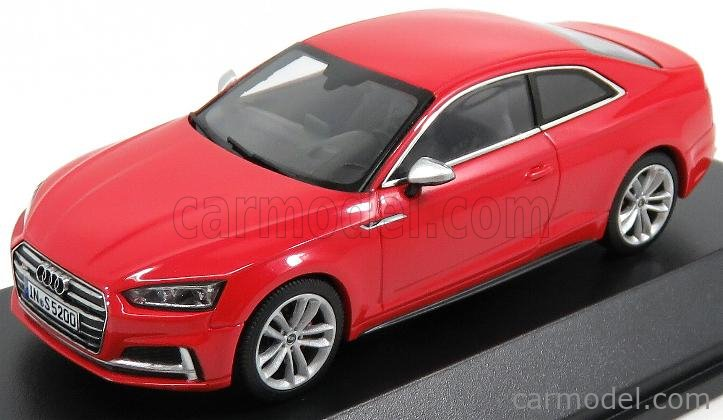 PARAGON-MODELS 5011615431 Scale 1/43  AUDI A5 S5 SPORTBACK COUPE 2016 MISANO RED
