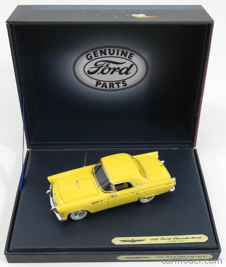 GENUINE-FORD-PARTS GPF427 Masstab: 1/43  FORD USA THUNDERBIRD COUPE 1955 YELLOW