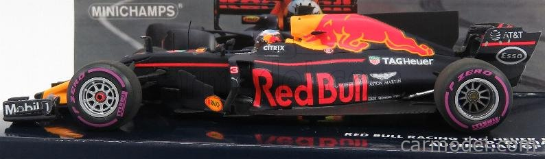 MINICHAMPS 410170003 Масштаб 1/43  RED BULL F1  RB13 TAG HEUER N 3 AUSTRALIAN GP 2017 DANIEL RICCIARDO RED BLUE YELLOW