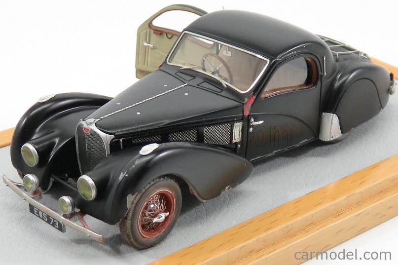EVRAT EVR003 Masstab: 1/43  BUGATTI T57SC sn57502 ATALANTE COUPE 1937 - SORTIE DE GRANGE BLACK