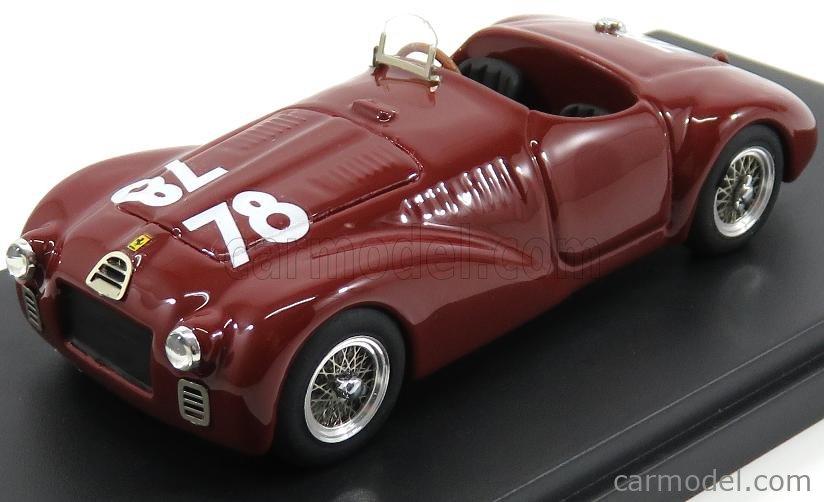 Glamour Glp100 78 Scale 1 43 Ferrari 125s Spider N 78 Circuito Di Parma Gp 1947 F Cortese Bordeaux