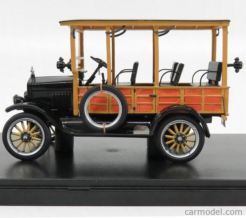 NEO SCALE MODELS NEO46770 Scale 1/43  FORD USA MODEL-T DEPOT HACK 1925 WOOD BLACK