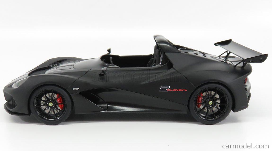 AUTOART 75391 Scale 1/18  LOTUS 3-ELEVEN ROAD 2017 BLACK MAT