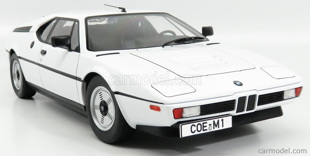 KK-SCALE KKDC120012 Echelle 1/12  BMW M1 1978 WHITE