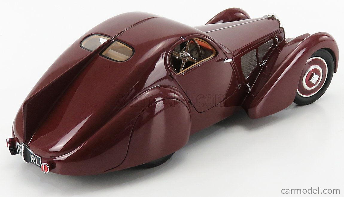 CULT-SCALE MODELS CML057-1 Echelle 1/18  BUGATTI TYPE 51 COUPE 1931 BROWN