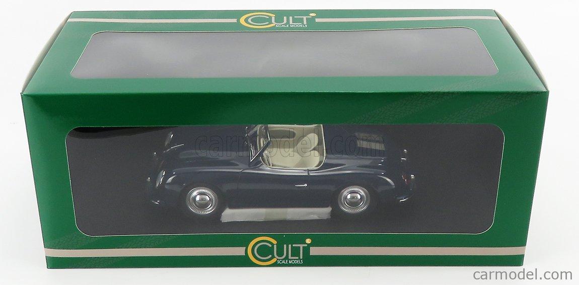CULT-SCALE MODELS CML044-1 Scale 1/18  PORSCHE 356 AMERICA ROADSTER SPIDER 1952 BLUE