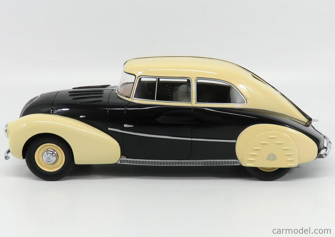 1:18 CMF Maybach SW35 Streamliner Spohn 1935 black//creme