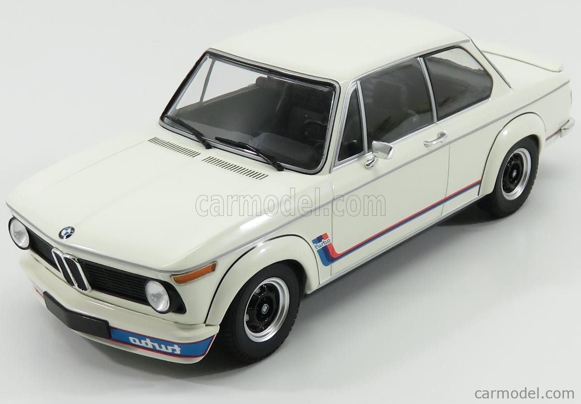 Minichamps 155026200 Scale 1 18 Bmw 2002 Tii Turbo 1973 White