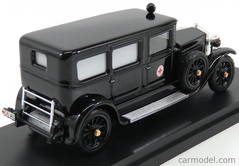 RIO-MODELS 4563 Scale 1/43  FIAT 519 C.R.I. CROCE ROSSA ITALIANA 1932 BLACK
