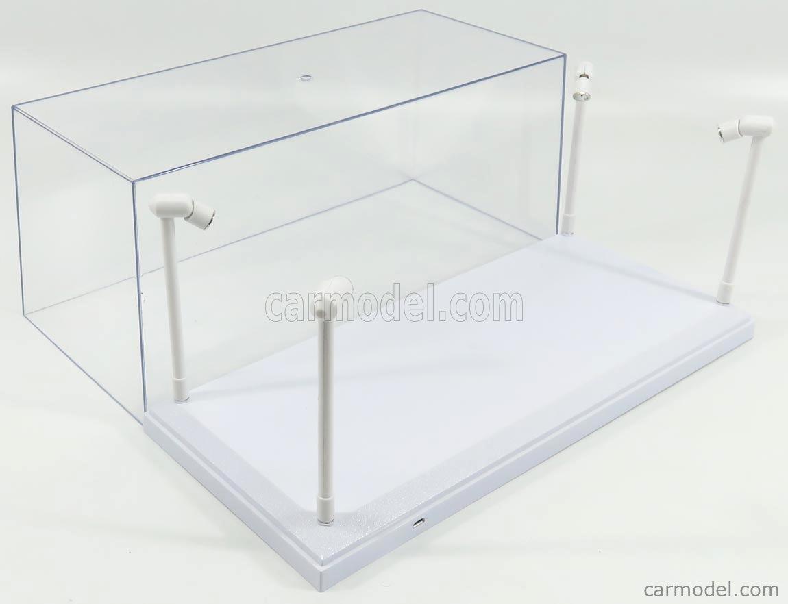 Vetrina Display Box Luci Funzionanti Led Plastic Display TRIPLE9 1:18 T9-189921