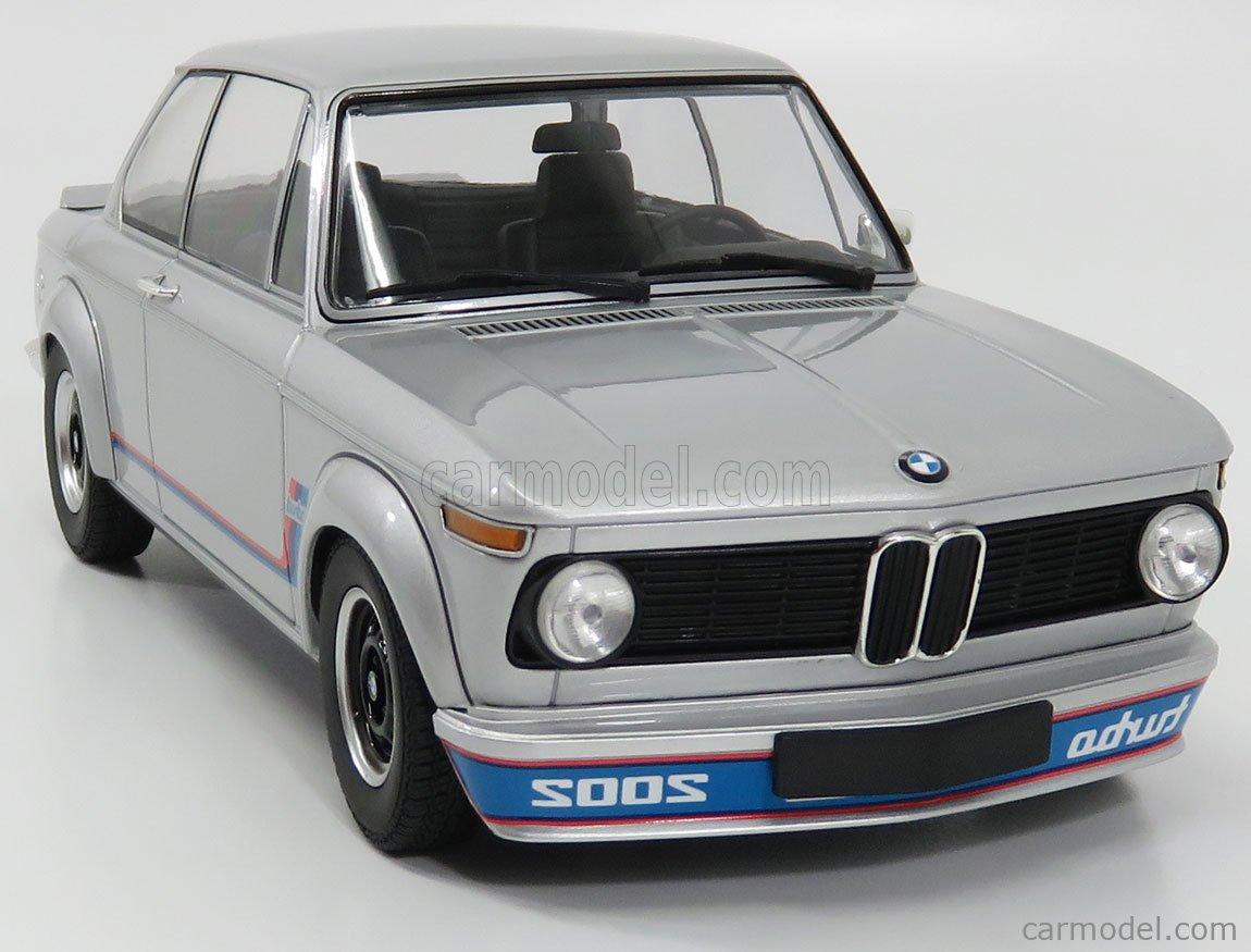Minichamps 155026201 Scale 1 18 Bmw 2002 Tii Turbo 1973 Silver
