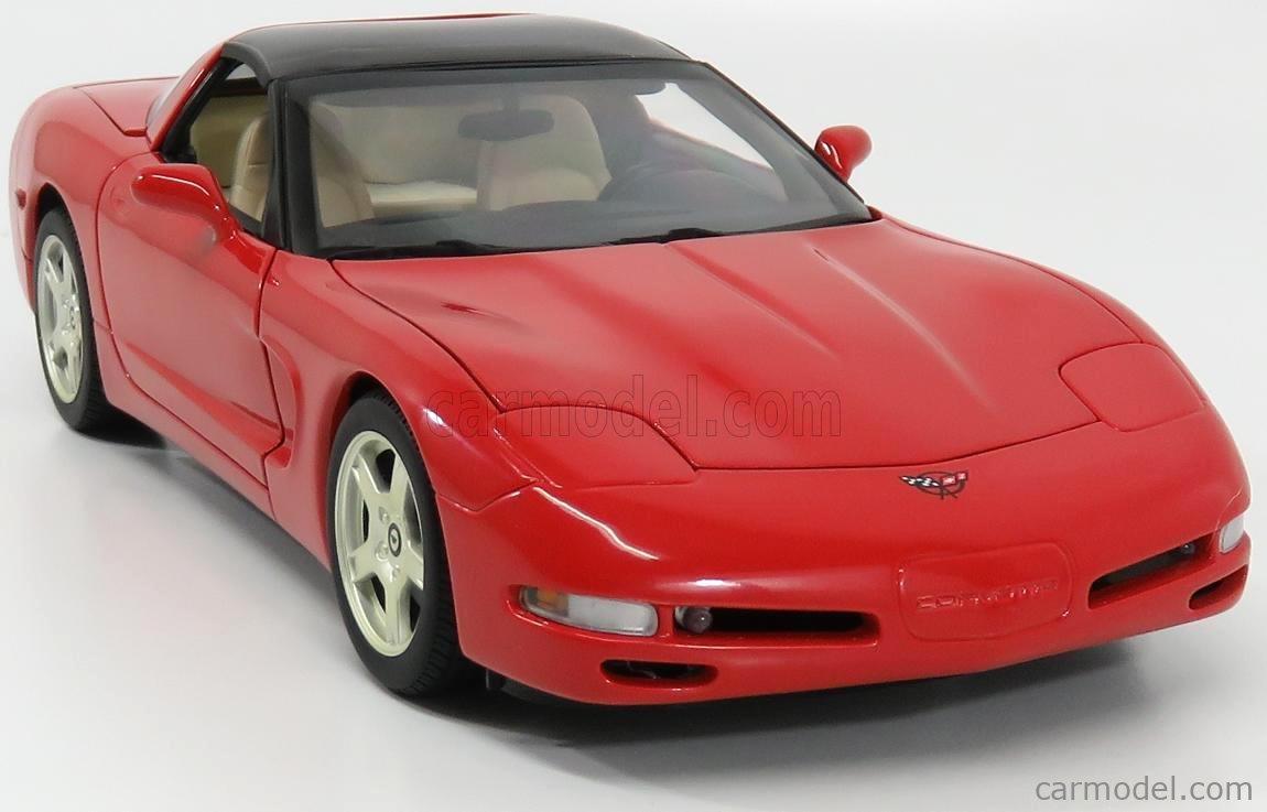 UT-MODELS 21001 Echelle 1/18  CHEVROLET CORVETTE SPIDER CLOSED 1998 RED