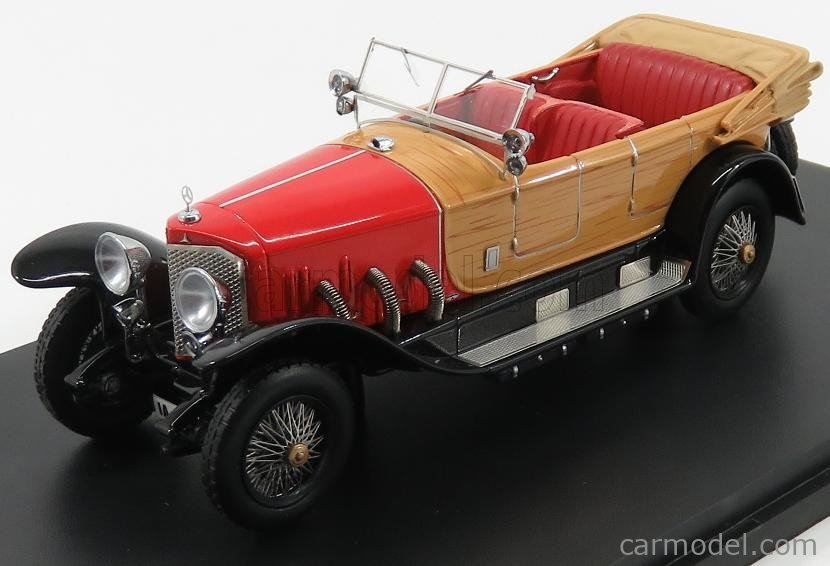 NEO SCALE MODELS NEO46171 Scale 1/43  MERCEDES BENZ 28/95 PS CABRIOLET OPEN 1922 RED WOOD