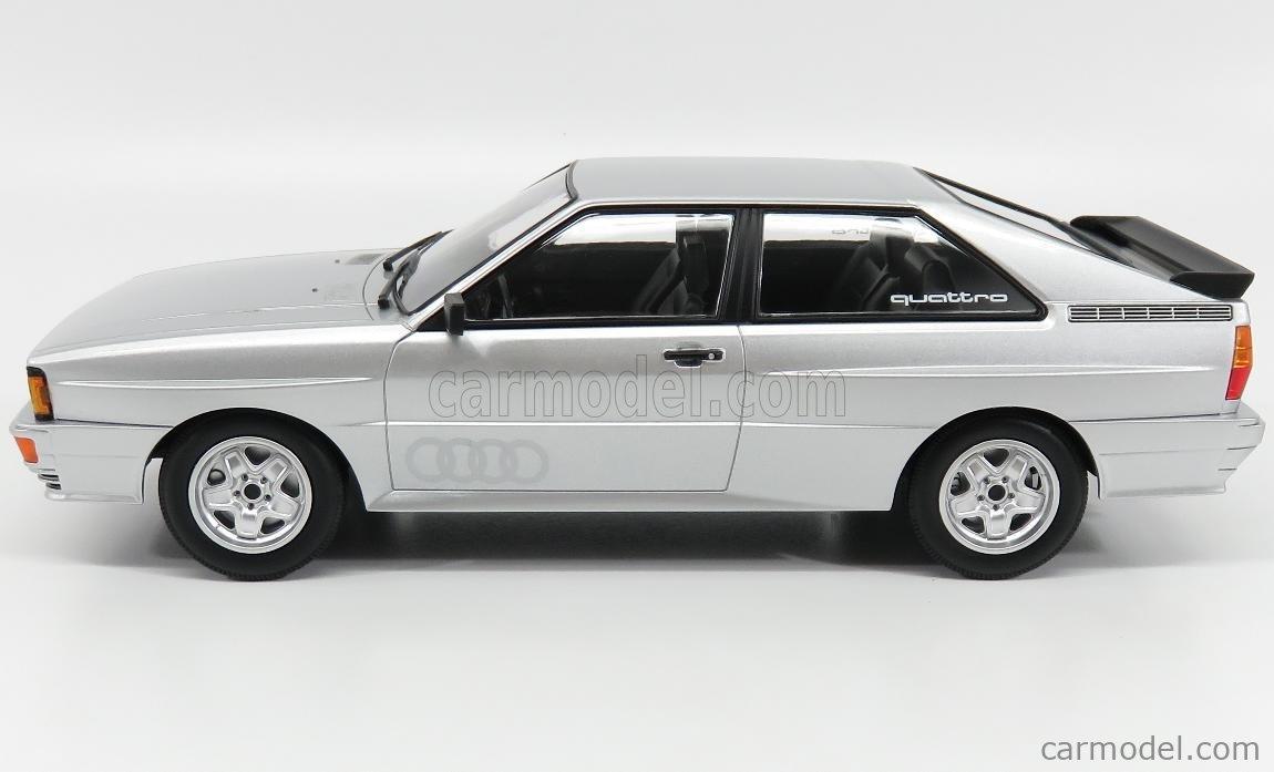 Audi Quattro 1980 plata Silver 1:18 Minichamps 155016122 nuevo